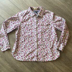 Tommy Hilfiger floral shirt long sleeve XLARGE